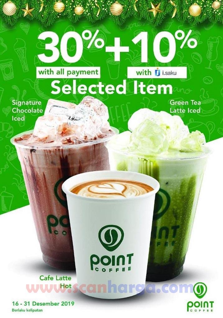 Promo Point Cafe Indomaret Periode 16 - 31 Desember 2019