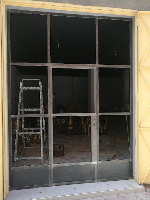 Verrière d'atelier en acier