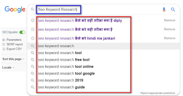 SEO Keywords Example, SEO Searchable Keywords Kya Hai Aur Apne Blog Me Kaise Find Kare