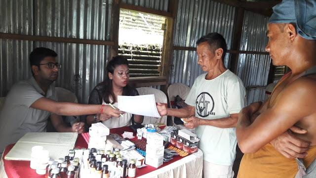 Gram Arogya Sewayan free health camp