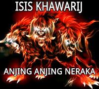 ISIS KHOWARIJ WAHABI ANJING ANJING NERAKA,disahihkan Albani.