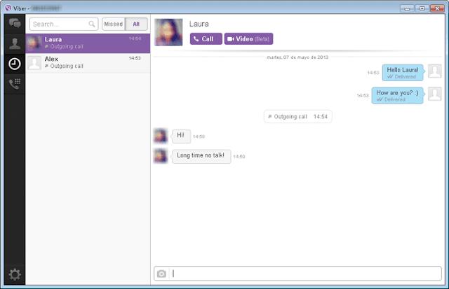 تنزيل Viber Messenger مجانا لابتوب