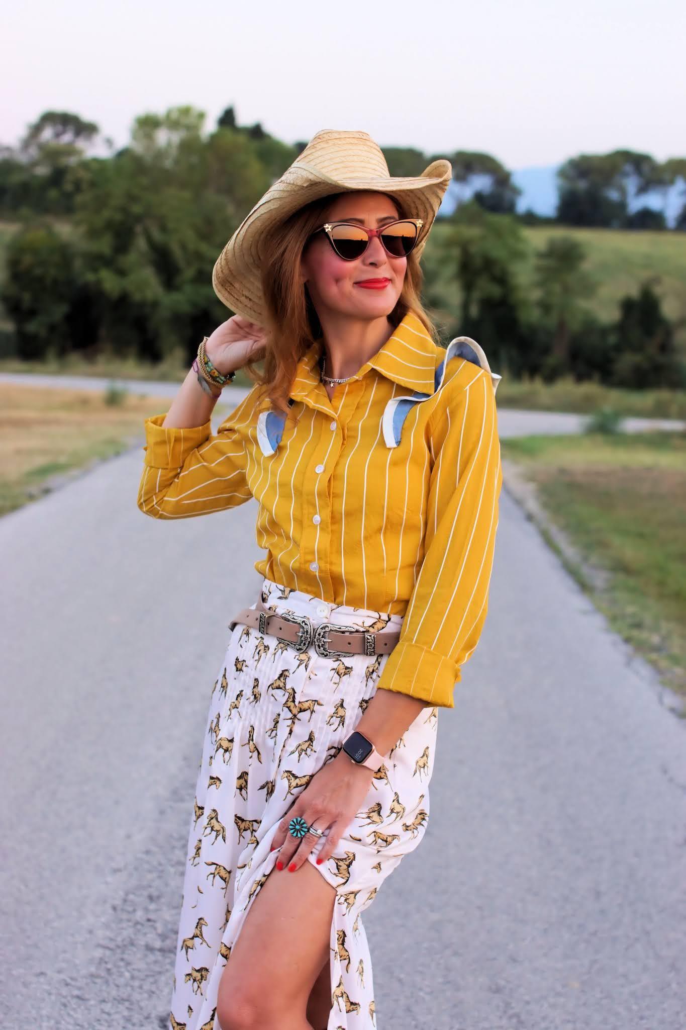 Prescotto pinstripe shirt