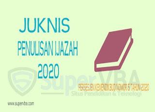 Penentuan Nilai Ujian Sekolah dalam Juknis Penulisan Ijazah 2020