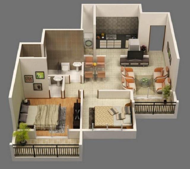 Plano de casa en 3d planos de casas gratis y departamentos en venta - Planos de casa en 3d ...