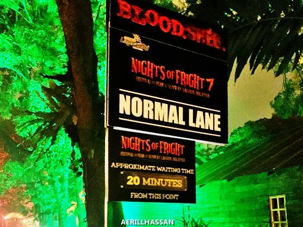 Pengalaman ke Night Of Fright 7 di Sunway Lagoon