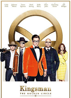 Kingsman: The Golden Circle Cinema Static Movie Review