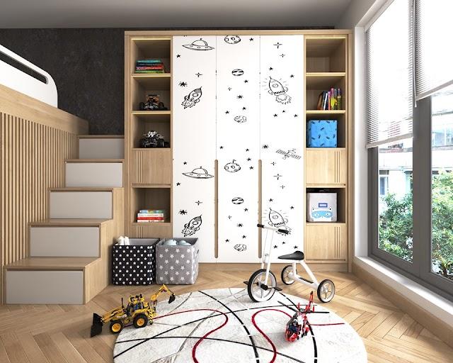 Thiết kế phòng ngủ trẻ em đầy chất sáng tạo