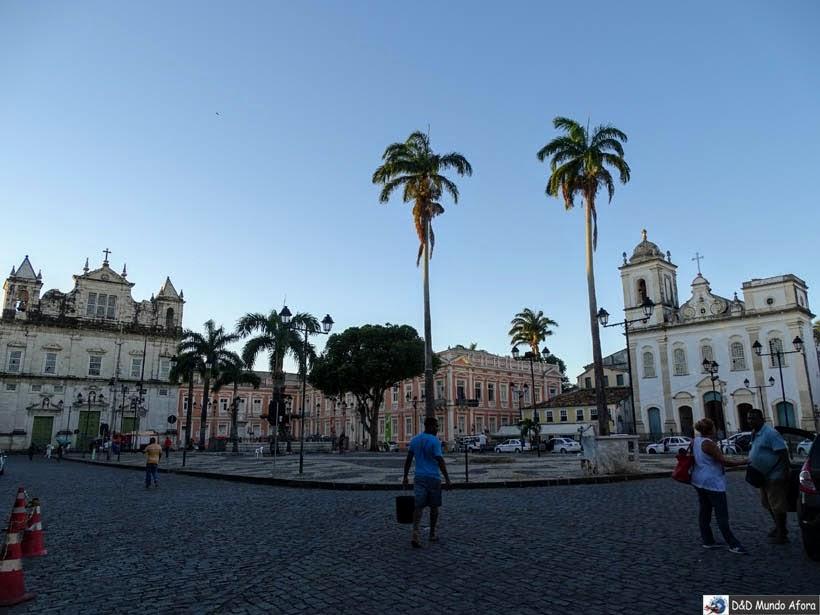 O que fazer no Pelourinho, Salvador (Bahia) - Largo Terreiro de Jesus