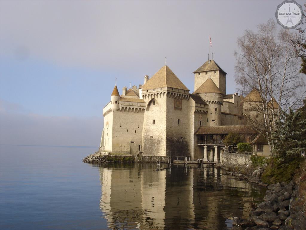 Chillon Castle Montreux Suíça-roteiro Suíça  8 dias