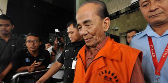 Baru Terima Grasi Dari Jokowi, KPK Kembali Buka Kasus Eks Gubernur Riau Annas Maamun