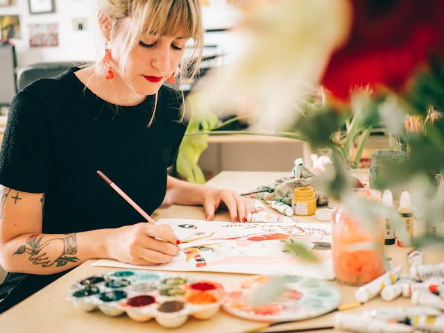 creatividad, historias, inspiration, slow living, maria hesse, ilustración, gataflamenca