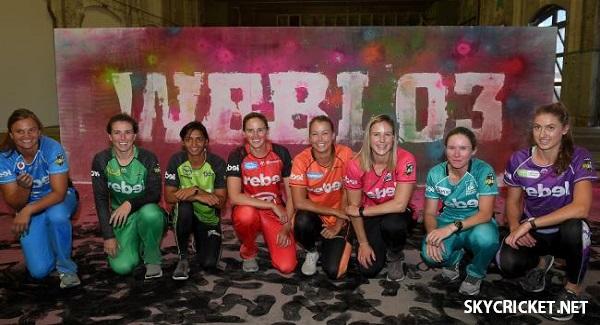 Women's Big Bash League 2017-18 Fixture