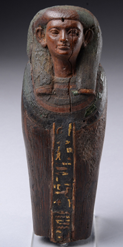 Missing 3,800 year old ushabti figurine recovered in London