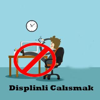 sınava disiplinli çalışmak