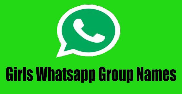 Girls Whatsapp Group Names