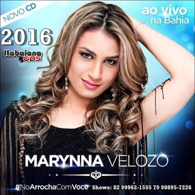 Marynna Velozo Ao Vivo na Bahia - CD Promocional 2016