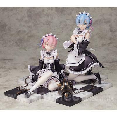 Figura Rem & Ram Special Set Limited Edition Re:Zero kara Hajimeru Isekai Seikatsu