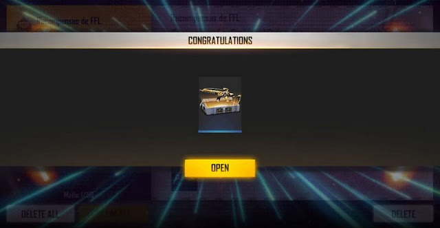 Free Fire Redeem code for today get Game Streamer Weapon Loot Crate