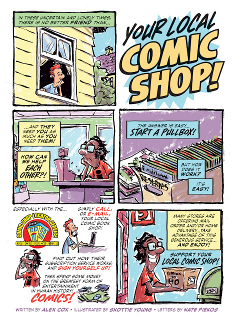 How To Support Your Local Comic Shop
