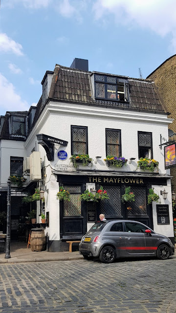 Historic Mayflower pub, The Unfinished City