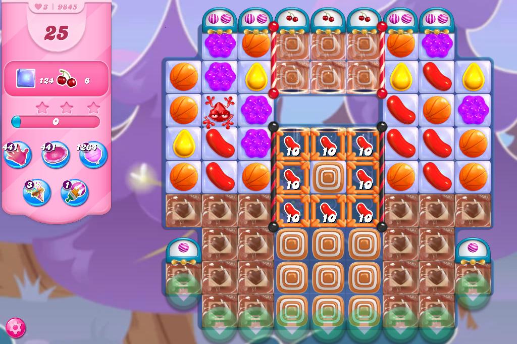 Candy Crush Saga level 9845