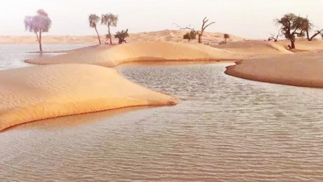 وادي مقشن في عمان