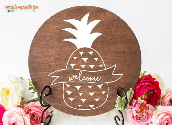 Free Pineapple SVG