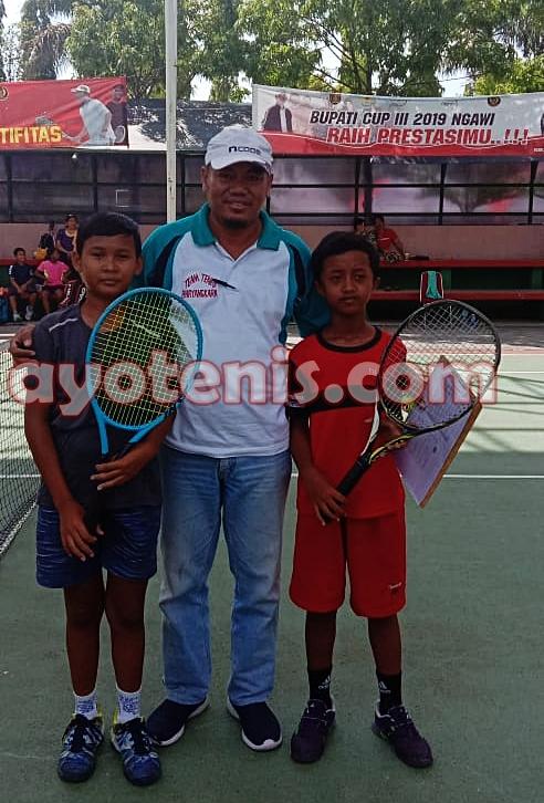 Kampiun Bupati Cup III Ngawi, Diego Armando Optimistis Tatap Kejurnas Fiks Bandung