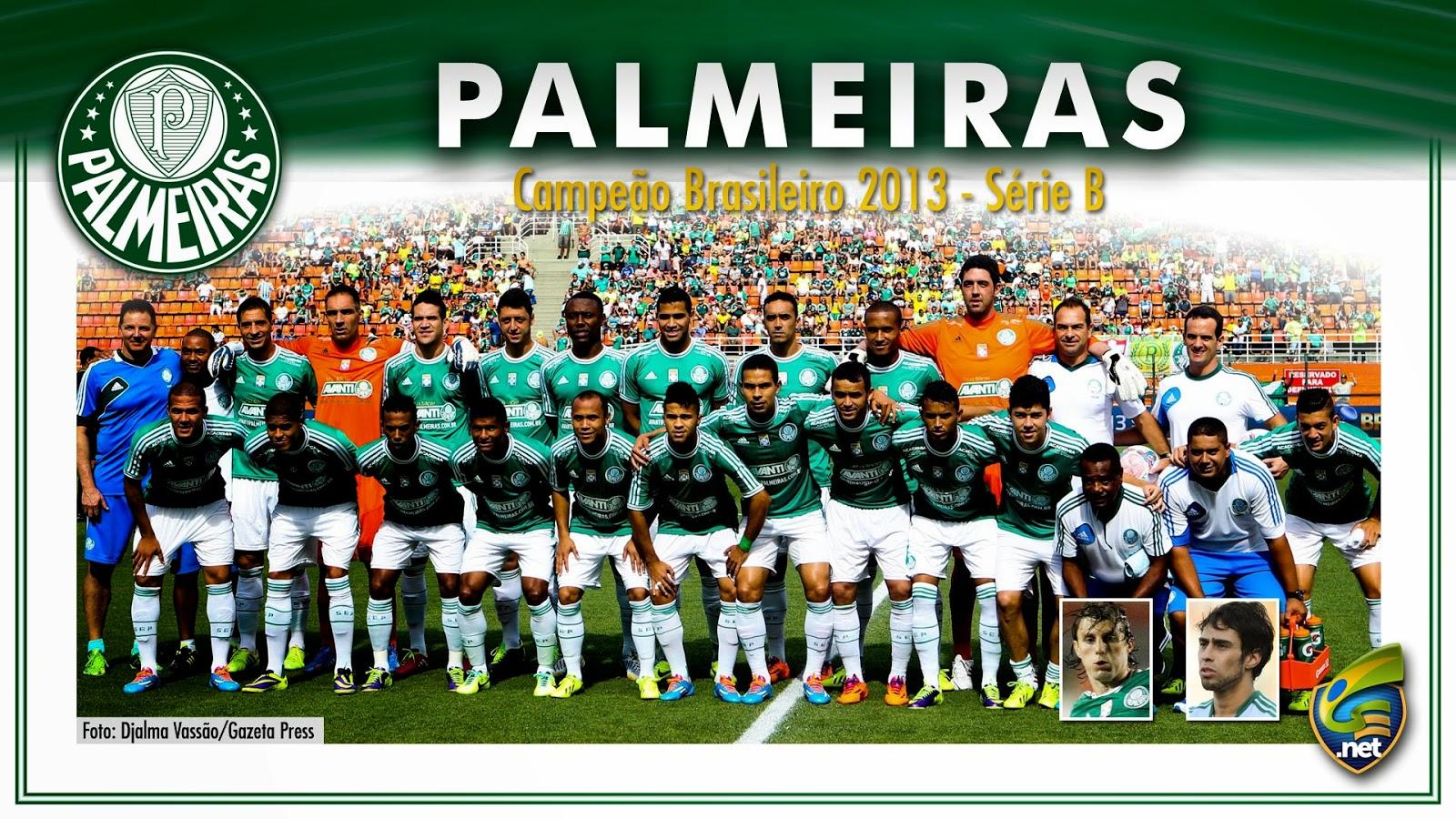 Série B  Palmeiras é campeão de 2013(Pôster) e Chapecoense garante acesso 5274350505e1a