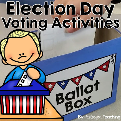 https://www.teacherspayteachers.com/Product/Election-Day-Voting-Activities-2521291