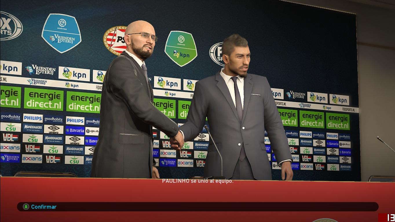 PES 2019 PSV Eindhoven Press Room for EvoSwitcher by Ivankr Pulquero