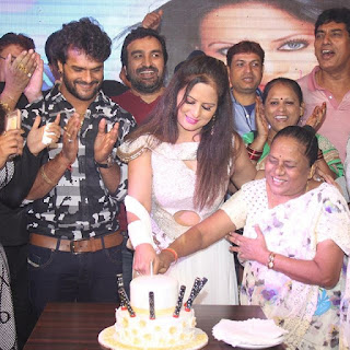 sangeeta tiwari birthday party