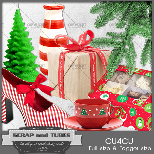 FREEBIE - Xmas Accessories 2 FS FCU4CU