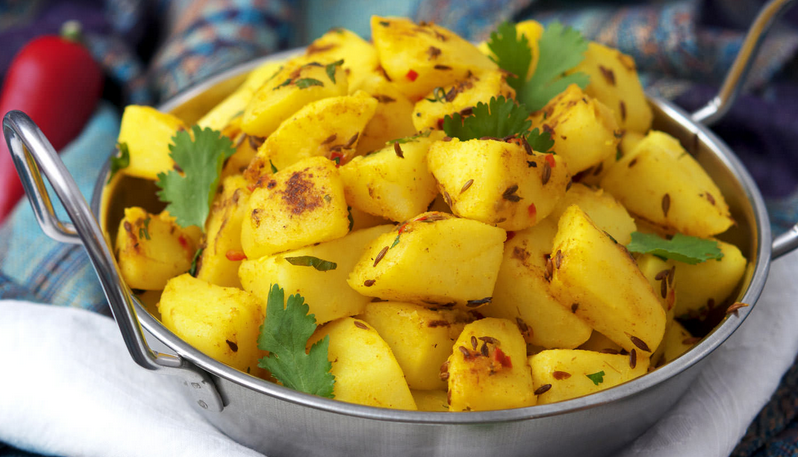 Now eat aloo in completely different taste!