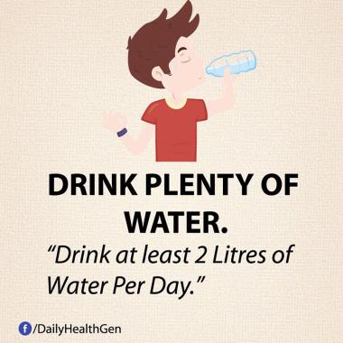 Minum Banyak Air (identitas)