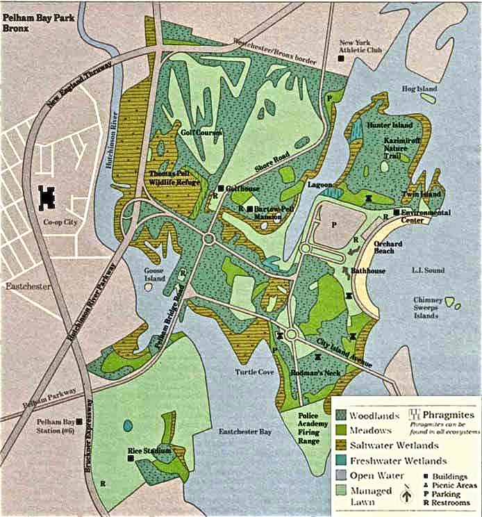 Pelham Bay Park Map Pelham Bay Final Post   City in Environment