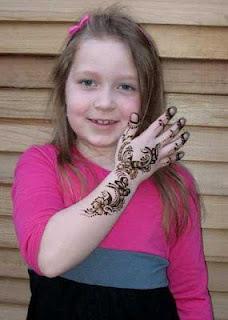 Arabic Mehndi Design With Kids