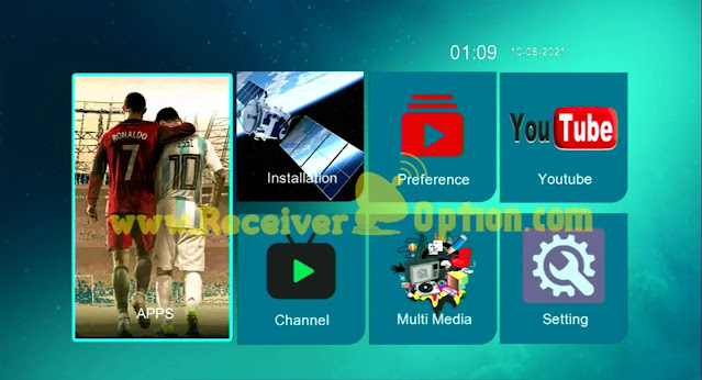 GHOST 555 HD 1506TV 512 4M NEW SOFTWARE WITH GO SAT PLUS V2 17 JULY 2021