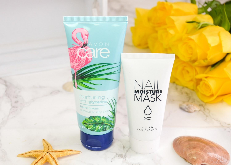 Summer 2019 Goodies From Avon | Nail Moisture Mask and Nurturing Hand Cream