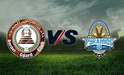 مشاهدة مباراة بيراميدز وحرس الحدود بث مباشر 21-9-2020 في الدوري المصري