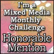 So proud to be chosen  as an Honourable Mention