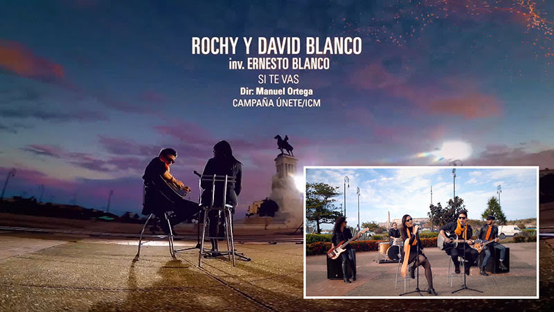 Rochy y David Blanco - ¨Si te vas¨ - Videoclip - Dirección: Manuel Ortega. Portal Del Vídeo Clip Cubano