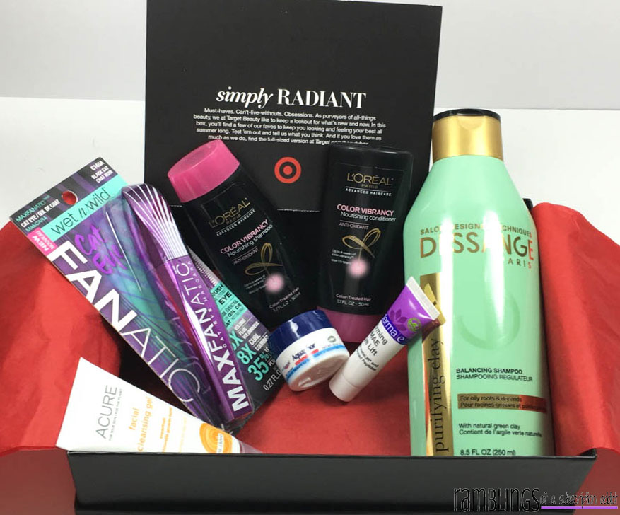 Target Beauty Box - Simply Radient