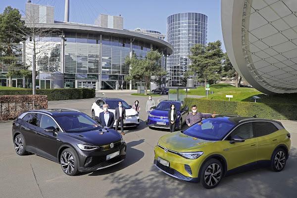 Volkswagen entrega primeiros ID.4 na Alemanha e nos EUA