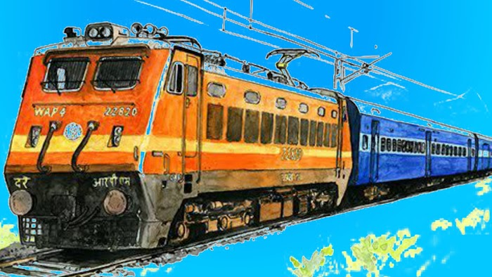 Realistic Indian Railroad crossing New train Simulation Game (review)