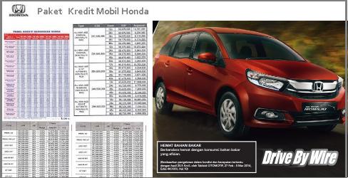 Harga Honda Mobilio Balikpapan Promo Kredit Ringan