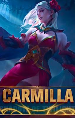 build carmilla mobile legends tersakit