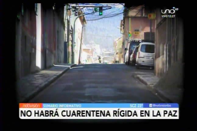 No habrá cuarentena rígida en La Paz pero si megarastrillajes en dos fines de semana