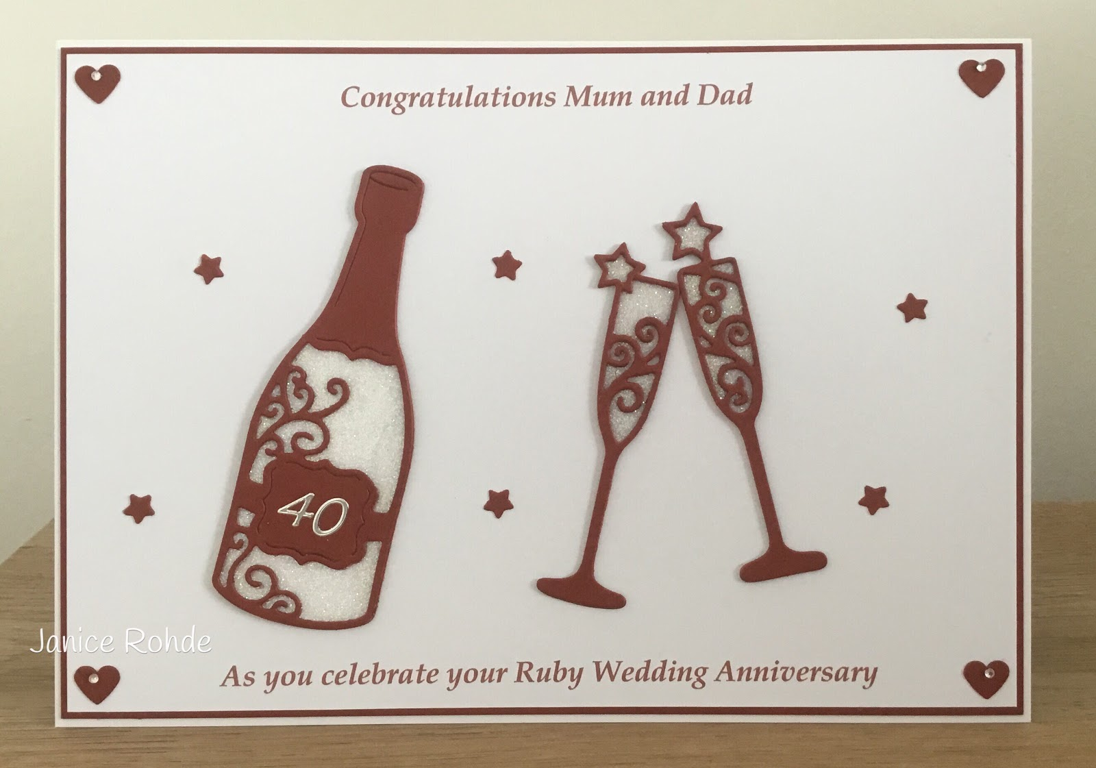 Ruby wedding: what to give 97